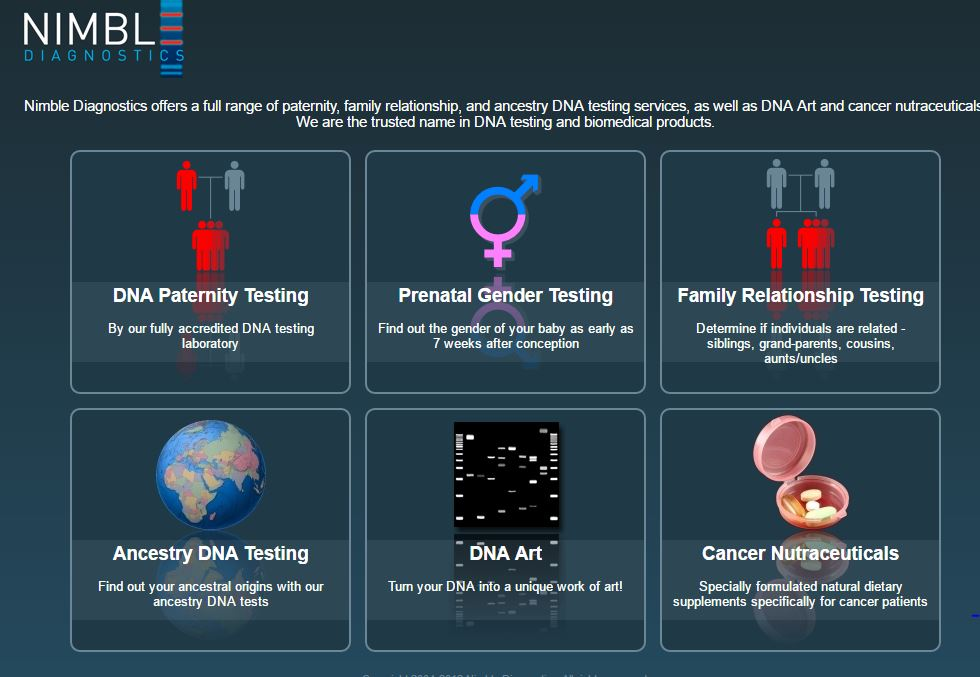 Nimble diagnostics dna test reviews best dna tests for Where to go for dna testing